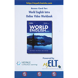 Access Card For: World English Intro: Online Video Workbook - Online Video Workbook