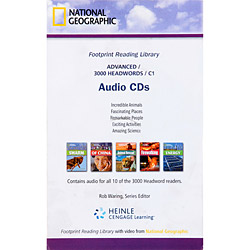 Footprint Reading Library - Advanced - 3000 Headwords C1 - Audio Cds