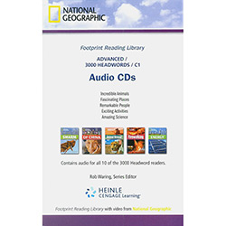 Footprint Reading Library - Level 8 - Audio Cd - British English
