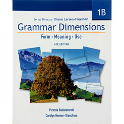 Grammar Dimensions 1b - Form, Meaning, Use