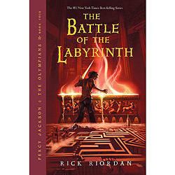 The Battle Of The Labyrinth - Percy Jackson & The Olympians - Livro 4