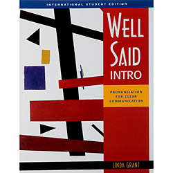 Well Said - Intro - Pronunciation For Clear Communication - International Student Edition