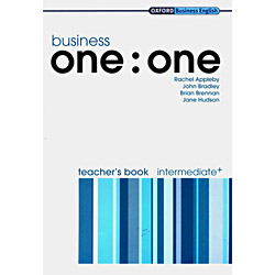 Business One: One: Intermediate Teachers Book