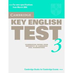 Cambridge Key English Test 3 - Student's Book