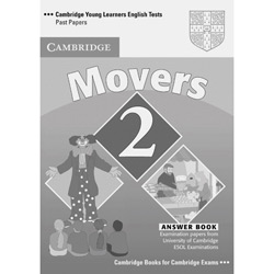 Cambridge Young Learners English Tests Movers 2 - Answer Booklet