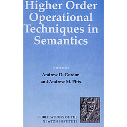 Higher Order Operational Techniques In Semantics