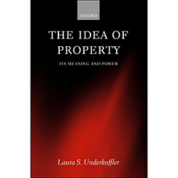 Idea Of Property, The: Its Meaning And Power