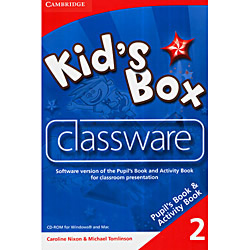 Livro : Kid's Box 2 Classware Cd-rom