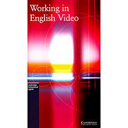 Livro : Working In English - Video Ntsc