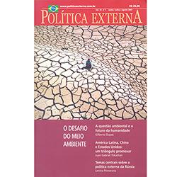 Política Externa - Junho / Julho / Agosto - 2003 - Volume 12