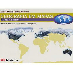 Geografia em Mapas: Países do Norte - 1 Grau