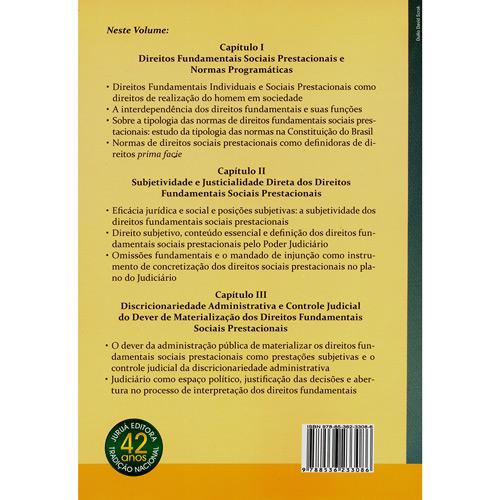 Judicialização dos Direitos Sociais Prestacionais - a Efetividade pela Interdependência dos Direitos Fundamentais na Constituição Brasi