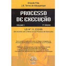 Processo de Execução - Lei N⺠11.232/05 2 Volumes