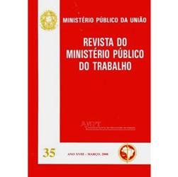 Revista do Ministério Público do Trabalho