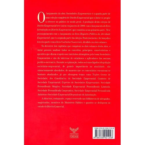 Sociedades Empresariais - Vol. Ii