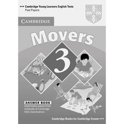 Cambridge Young Learners English Tests Movers 3 - Answer Booklet
