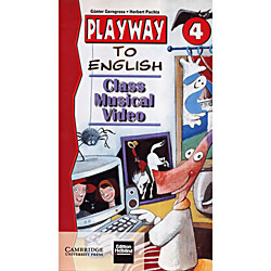 Livro : Playway To English 4 Class Musical + Video Vhs Ntsc