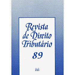 Revista de Direito Tributário Ed.89