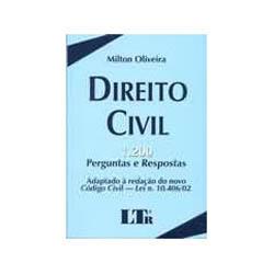 Direito Civil - 1200 Perguntas e Respostas