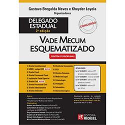 Vade Mecum Esquematizado de Concurso de Delegado Estadual 2⺠Edição Atualizada - 2012