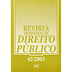 Revista Trimestral de Direito Público - Volume 42/2003