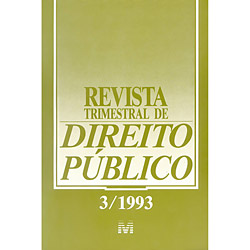 Revista Trimestral de Direito Público - Vol. 03