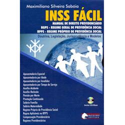 Inss Fácil: Manual de Direito Previdenciário
