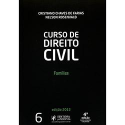 Curso de Direito Civil: Famílias - Vol. Vi