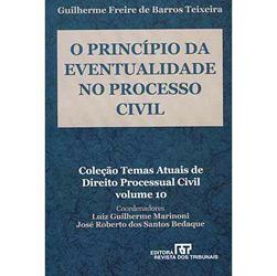 Princípio da Eventualidade no Processo Civil, O