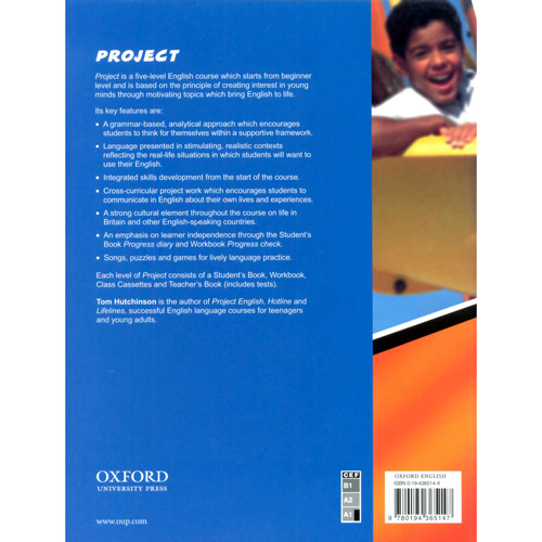 Project 1: Students Book - Level 1