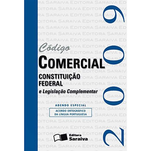 Código Comercial e Constituição Federal - Mini - 15⪠Ed. 2009