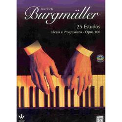 25 Estudos - Op. 0 - Burgmuller - C/ Cd