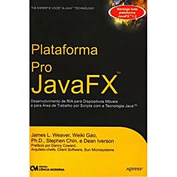 Plataforma Pro Java Fx