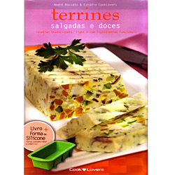 Kit Terrines Salgados e Doces: Receitas Com Alternativas de Ingredientes Funcionais e Light - Série Média