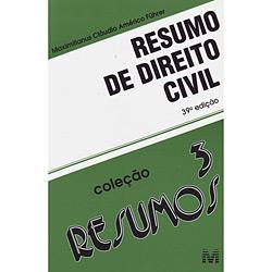 Resumo de Direito Civil - Vol. 3 - Coleção Resumos