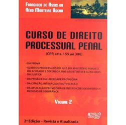 Curso de Direito Processual Penal - Volume Ii - Encadernacao Especial