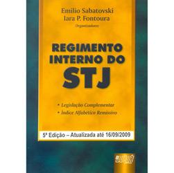 Regimento Interno do Stj - Edição Atualizada Ate 16/09/2009