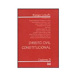 Direito Civil Constitucional - Caderno 03