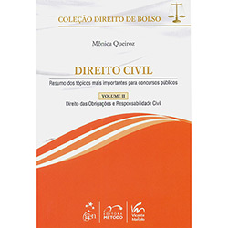 Direito Civil: Direito das Obrigações e Responsabilidade Civil - Vol. 2 - Edição de Bolso