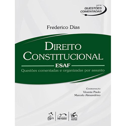 Direito Constitucional - Esaf - Série Questões Comentadas