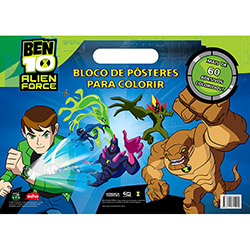 Ben Alien Force: Bloco de Pôsteres para Colorir