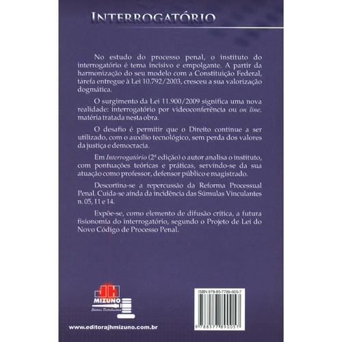 Interrogatório: de Acordo Com a Lei 11.900/2009 - Interrogatório por Videoconferência