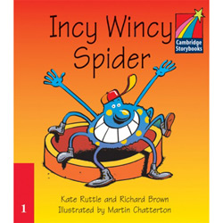 Incy Wincy Spider [pack Of 6]