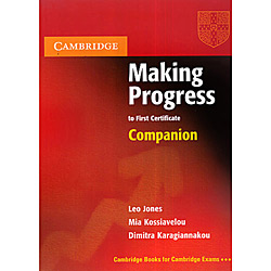 Livro : Making Progress To First Certificate Companion