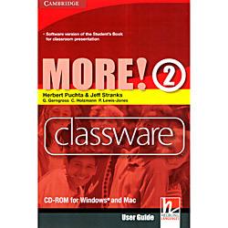 Livro : More! Level 2 Classware Cd-rom