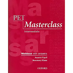 Pet Masterclass - Workbook With Answers - Intermediate