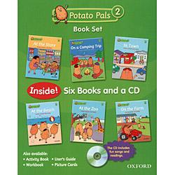 Potato Pals 2 - Book Set - Six Books And a Cd