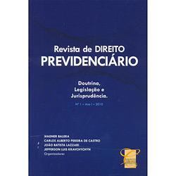 Revista de Direito Previdenciário - Doutrina, Legislação e Jurisprudência