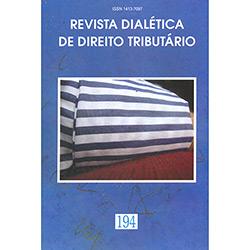 Revista Dialética de Direito Tributário N⺠194