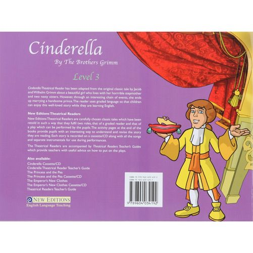 Theatrical Readers 3: Cinderella - Book + Audio Cd